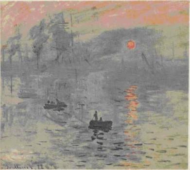 К. Моне. Впечатление. Восход солнца.