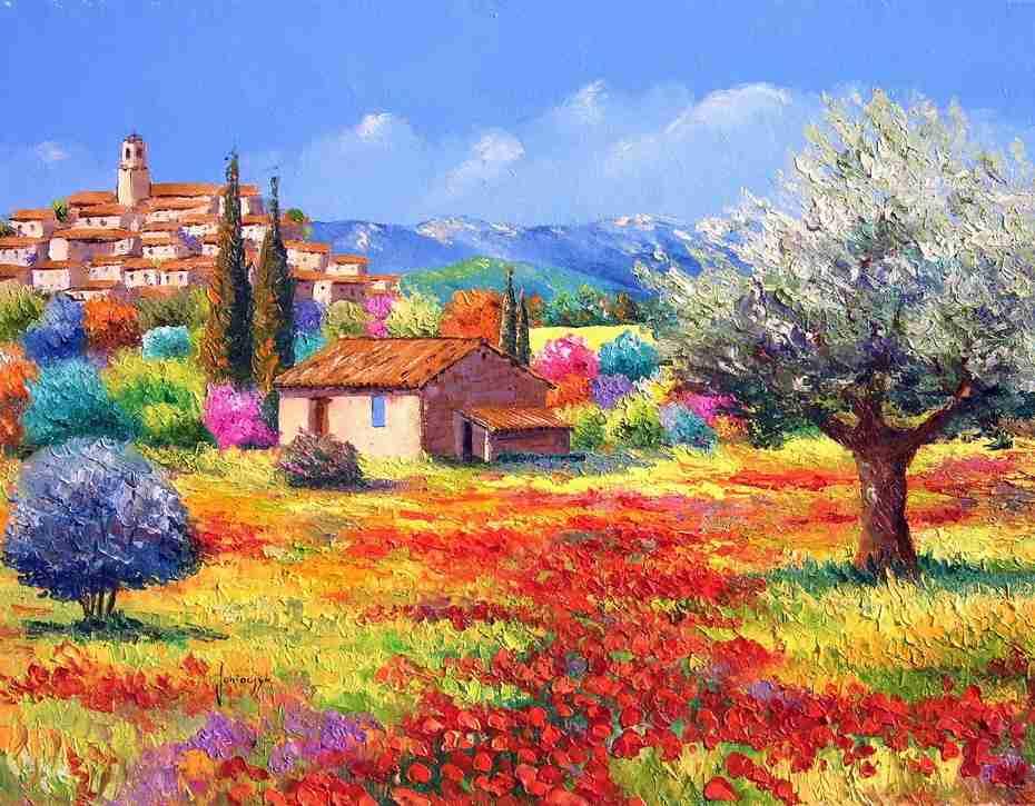 Цветовая стихия импрессионистического пейзажа