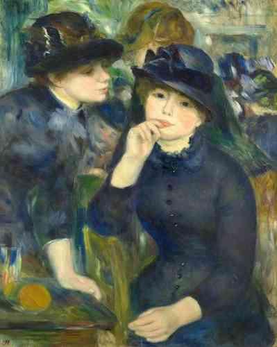 Сенсационность и необычность выступления импрессионистов в Париже