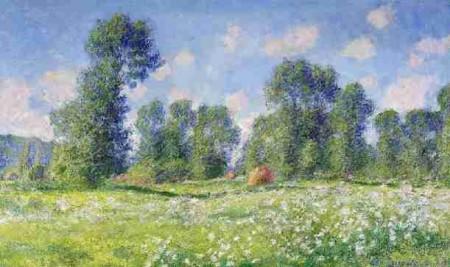 На фото изображена картина в классическом стиле Импрессионизма