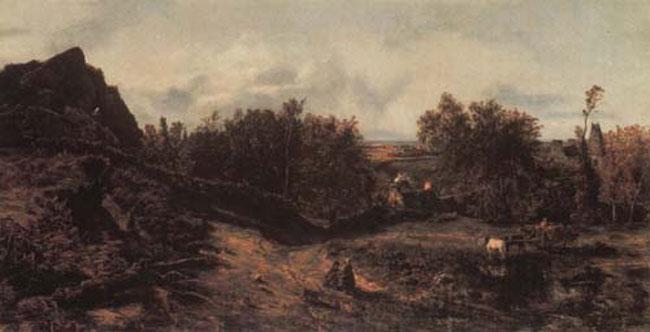 Пейзажный мотив у барбизонцев