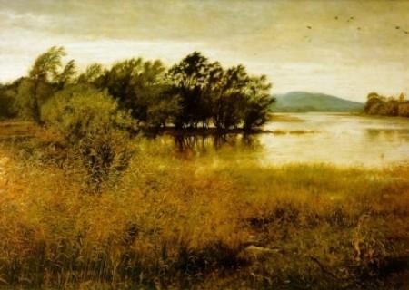 ПНа фото вы видите пейзажную живопись импрессионистов
