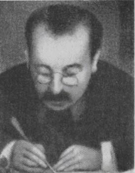 Поль Алексис. Рисунок Сера, сделанный черным мелом. 1886