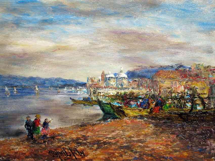 Теплые и холодные цвета в картинах импрессионистов