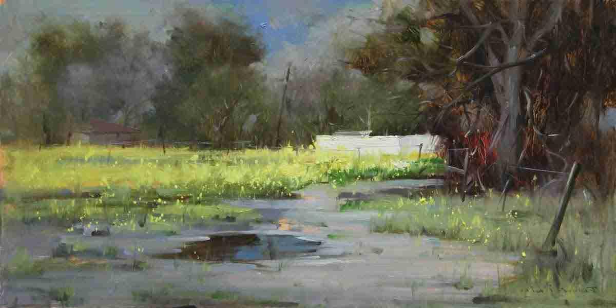 Ведущее место пейзажной живописи в импрессионизме