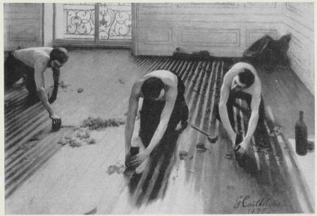 Г. Кайботт. Паркетчики. 1875