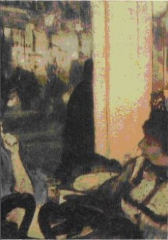 Э. Дега. Женщины перед кафе. 1877