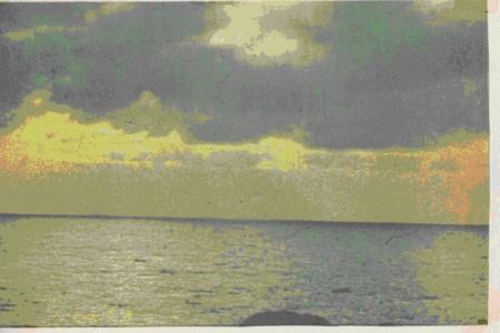 На фото изображена картина А. Сислея.